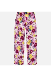 Mayoral FLORAL FLOWY PANT - Side cropped