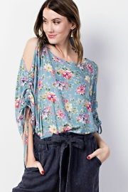 easel Floral Flowy Top - Product Mini Image