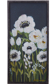 Maison A Floral Framed Wall Art - Product Mini Image