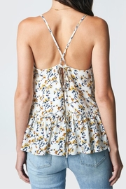 Sugar Lips Floral Frill Cami - Back cropped
