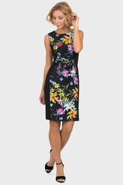 Joseph Ribkoff  floral front panel sleeveless dress - Product Mini Image