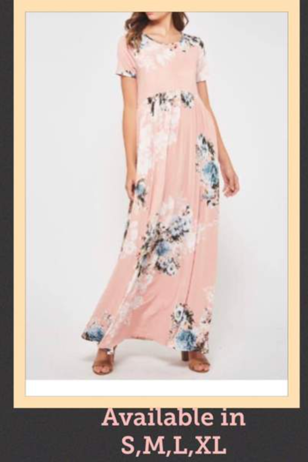 Kindred Mercantile Floral Fun Maxi Dress - Main Image