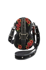 Mary Frances Floral Guitar Handbag - Product Mini Image