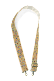 Joy Susan  Floral Guitar Strap Embroidered - Product Mini Image