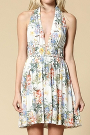 Bio Floral Halter Dress - Product Mini Image