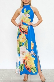 Flying Tomato Floral Halter Dress - Product Mini Image