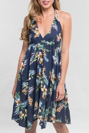 Lovestitch Floral Halter Dress - Product Mini Image