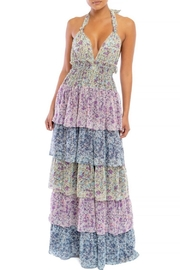 luxxel Floral Halter Maxi - Product Mini Image