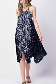 KORI AMERICA Floral Handkerchief Dress - Product Mini Image