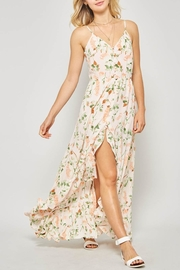 Promesa USA Floral Hi-Low Maxi-Dress - Product Mini Image