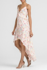 Lush Floral Hi-Low Maxi - Front full body