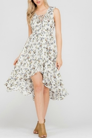 Adeline Floral High-Low Dress - Product Mini Image