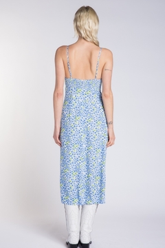 Skylar & Madison Floral High Slit Midi Dress - Alternate List Image