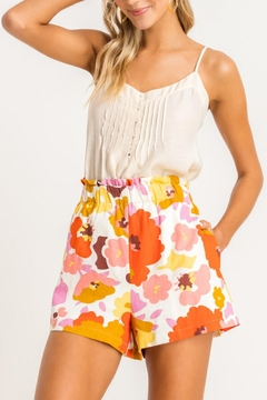 Lush  Floral Pocket Shorts - Product List Image
