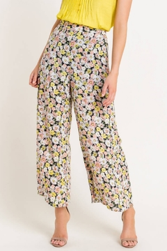 Lush  Floral High Waisted Pants - Product List Image