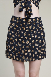 Wild Honey Floral High-Waisted Skirt - Product Mini Image
