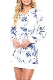 Available Floral Hooded Dress - Product Mini Image