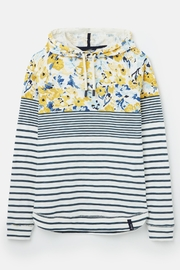 Joules Floral Hooded Sweatshirt - Other