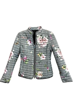 ANTONELLO SERIO Floral Houndstooth Coat - Product List Image