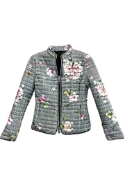 ANTONELLO SERIO Floral Houndstooth Coat - Product Mini Image