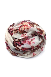 Riah Fashion Floral Infinity Scarf - Product Mini Image