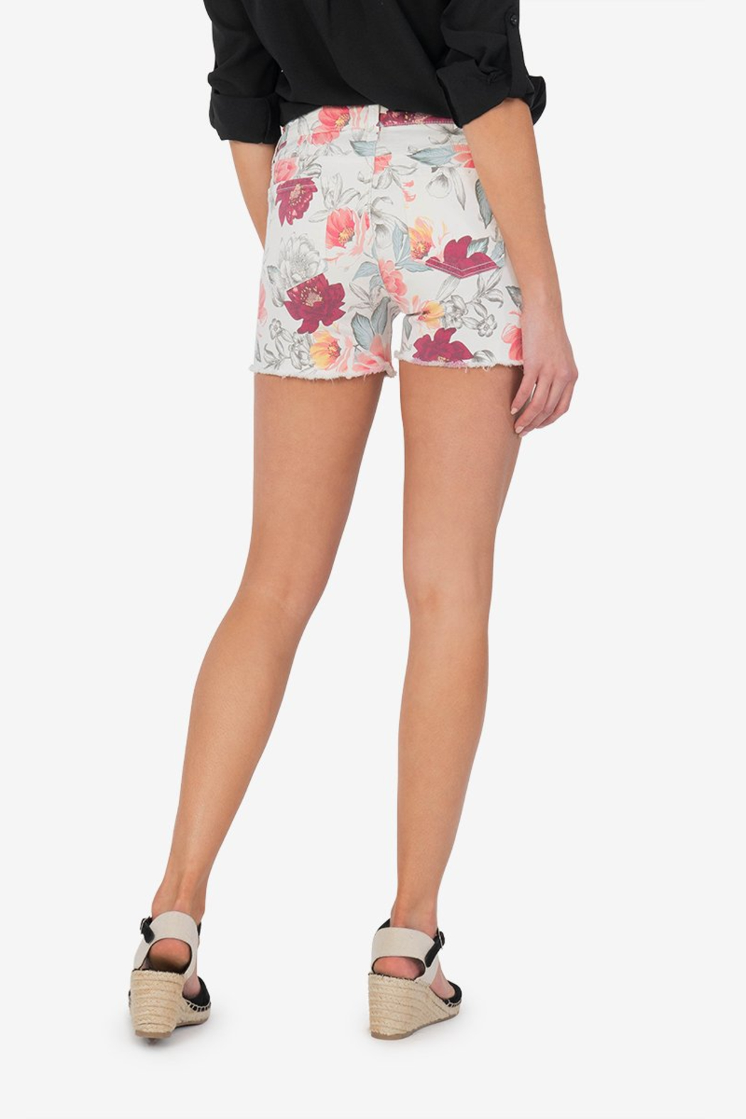 Kut from the Kloth Floral Jane - Back Cropped Image
