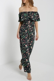 Soprano Floral Jumpsuit - Product Mini Image