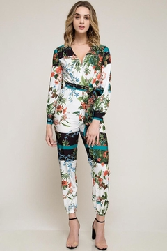 Shoptiques Product: Floral Jumpsuit