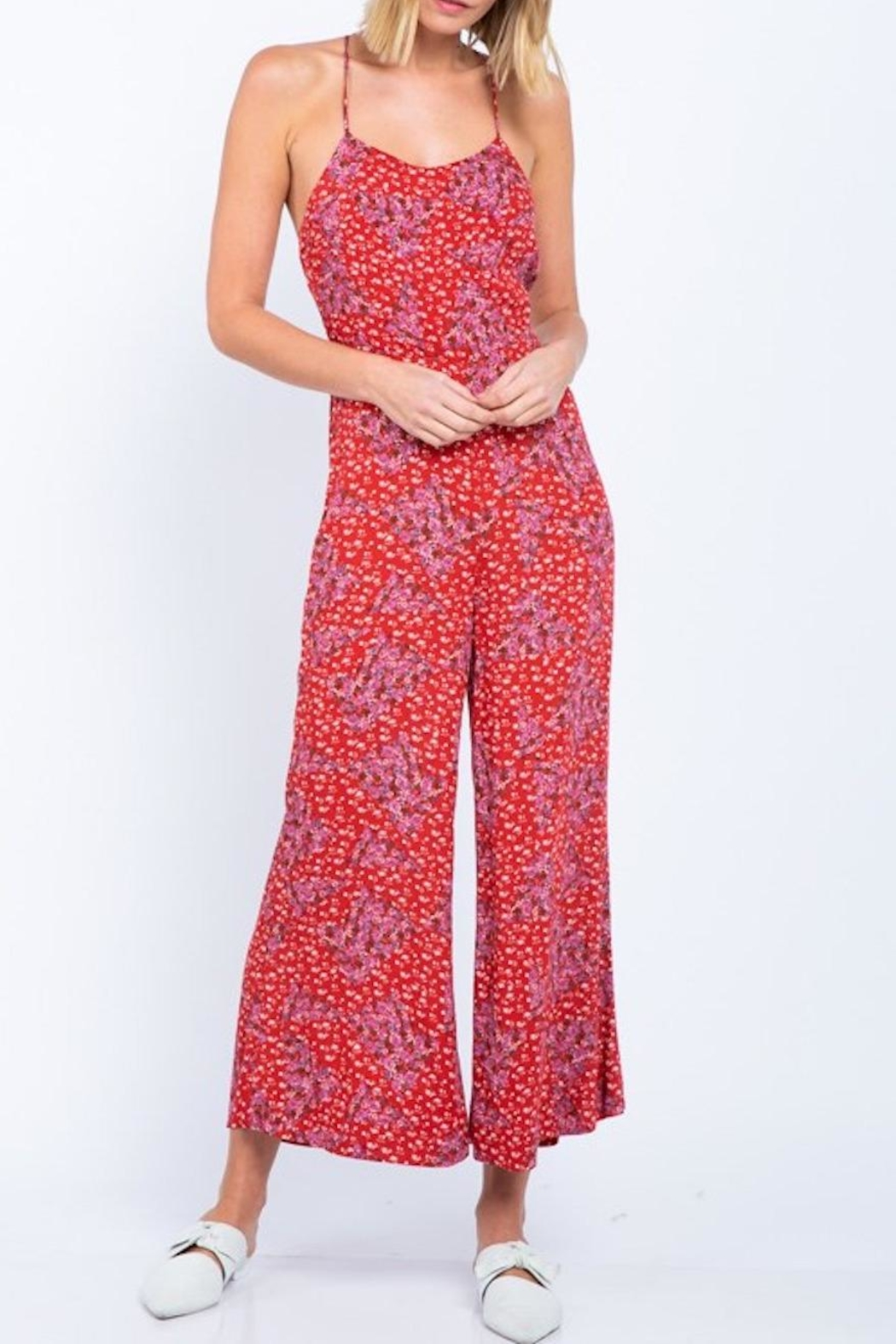 15ac6f0d2483 skylar madison Floral Jumpsuit from New York by Lucia Boutique ...