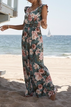 SAGE THE LABEL Floral Jumpsuit - Alternate List Image