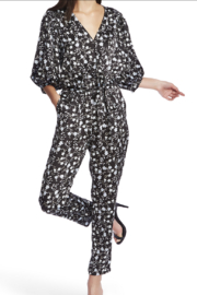 NapaLook Floral Jumpsuit - Product Mini Image