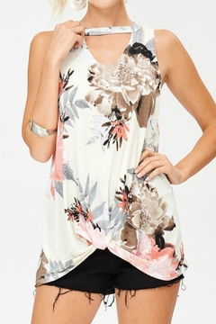 Lovely J Floral Keyhole Tank - Product List Image