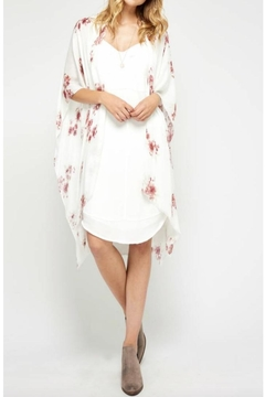 Gentle Fawn Floral Kimono - Alternate List Image