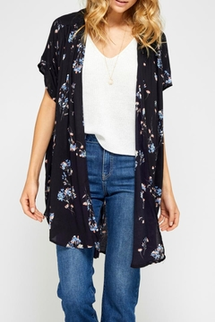 Gentle Fawn Floral Kimono - Product List Image