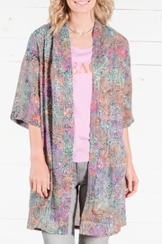 Go Fish Clothing Floral Kimono - Product Mini Image