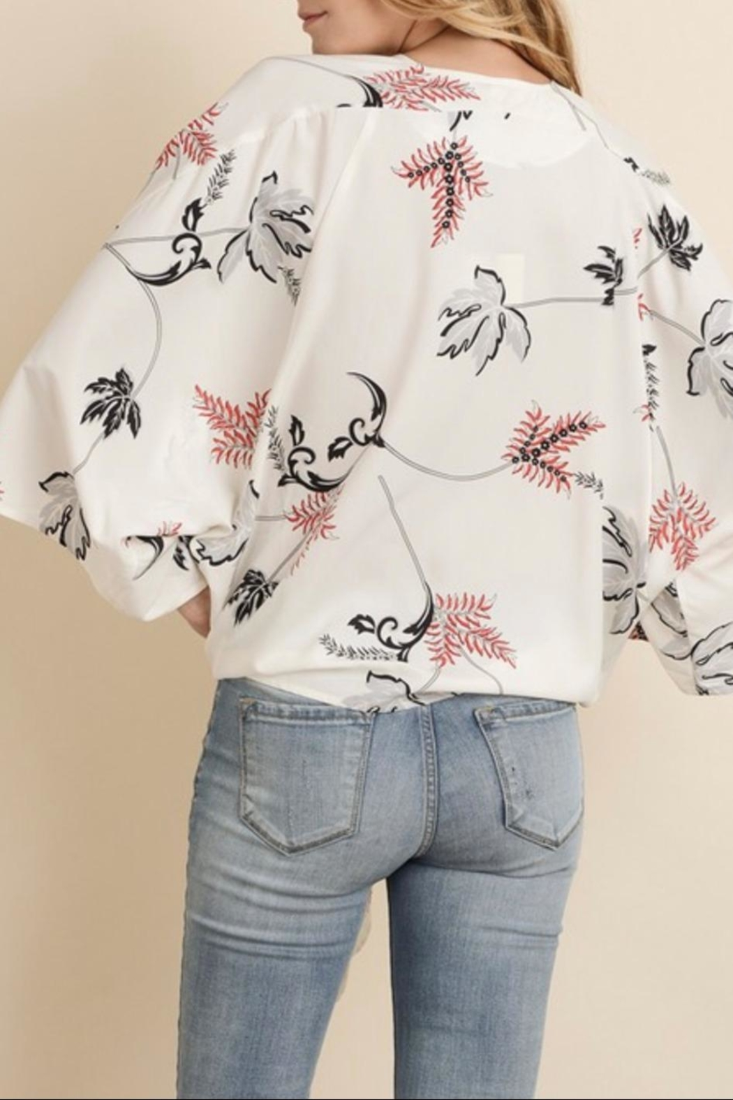 f0f1382a6 dress forum Floral Kimono Blouse from Wisconsin by Apricot Lane ...