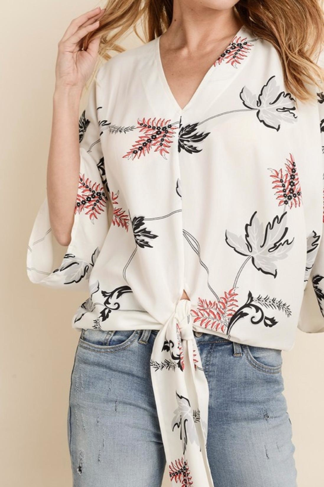 0306fbe00f2f99 dress forum Floral Kimono Blouse from Wisconsin by Apricot Lane ...
