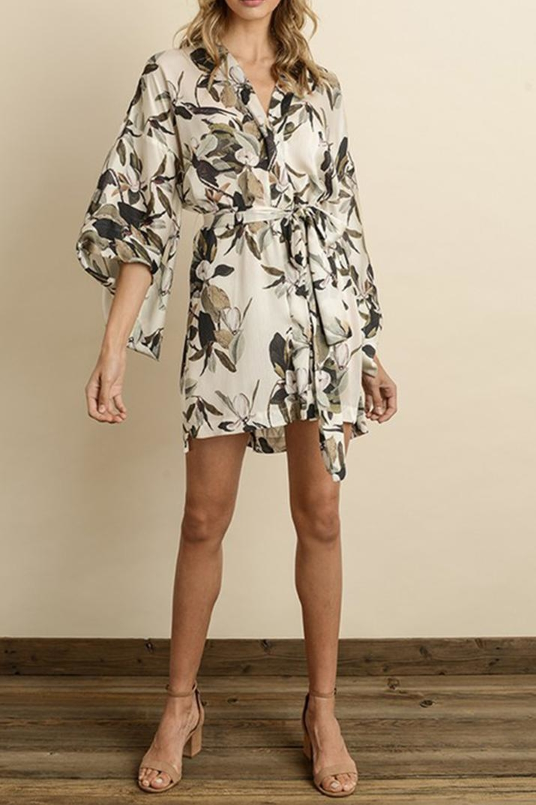 dress forum Floral Kimono Dress - Main Image