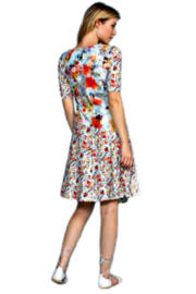 Aventures Des Toiles Floral Knit Dress - Front full body