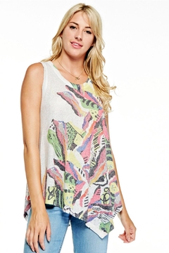Inoah Floral Knit Tunic - Alternate List Image