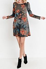 Aryeh Floral Knit Tunic/dress - Product Mini Image