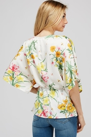 Idem Ditto  Floral Knot Blouse - Other