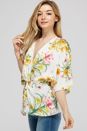 Idem Ditto  Floral Knot Blouse - Side cropped