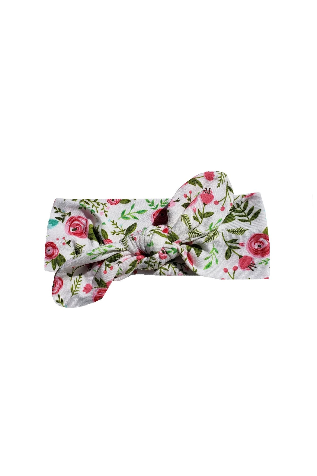 BEVA Floral Knot Headband - Front Cropped Image