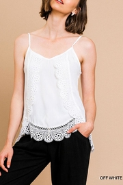 Umgee USA Floral Lace Camisole - Product Mini Image