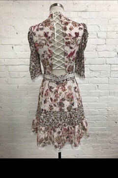 Just Me Floral Lace Dress - Alternate List Image