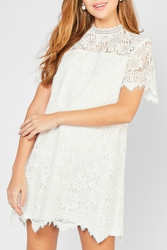 Entro Floral Lace Dress - Product List Image