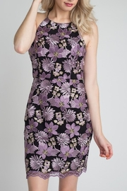 Minuet Floral Lace Dress - Product Mini Image