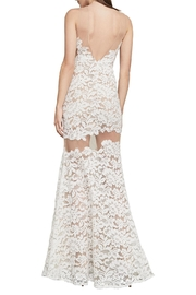 BCBG MAXAZRIA Floral Lace Gown - Side cropped