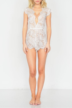 R+D Floral Lace Romper - Alternate List Image